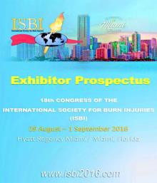 International society for burn injuries (ISBI) 2016